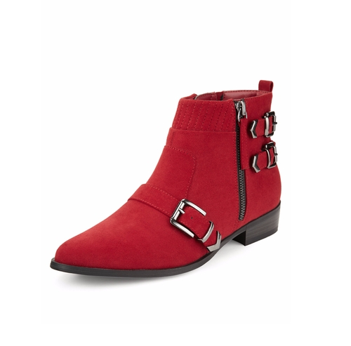 Flat Buckle Ankle Boots by M&S Collection in Me Before You