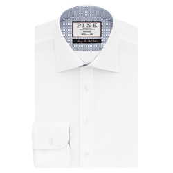 Kingsford Plain Classic Fit Button Cuff Shirt by Thomas Pink in Victor Frankenstein