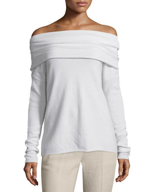High Twist Off-The-Shoulder Cashmere Sweater by Vince in Empire - Season 3 Season 3 Preview