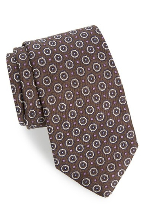 Medallion Silk Tie by Eton in The Blacklist - Season 3 Episode 13