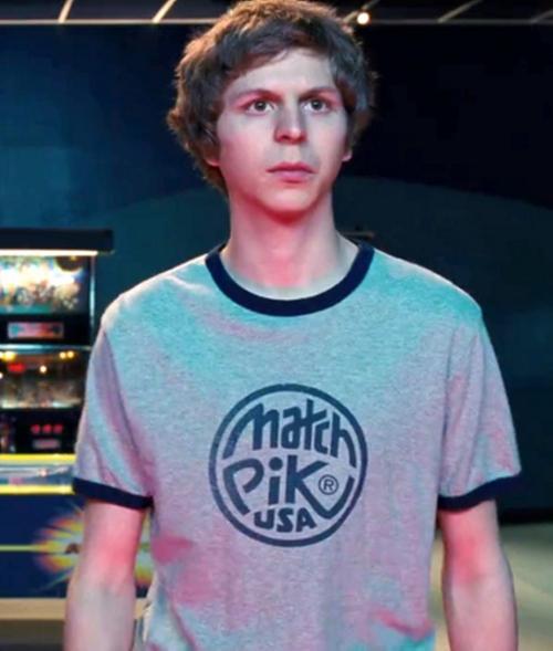 Match Pik USA Ringer T-Shirt by Dunlop in Scott Pilgrim Vs. The World
