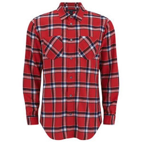 Men's Oversized Toto Plaid Shirt by Marc by Marc Jacobs in The Mindy Project - Season 4 Episode 6