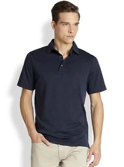 Oxford Polo Shirt by Saks Fifth Avenue Collection in Modern Family