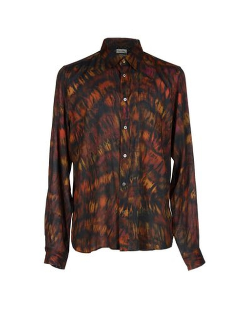 Printed Shirt by Paul Smith in Vinyl - Season 1 Episode 1