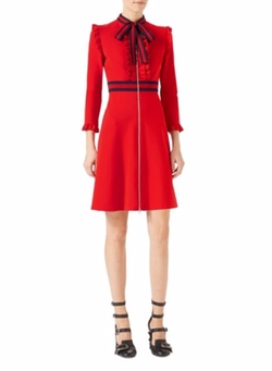 Viscose Jersey Dress by Gucci in Empire