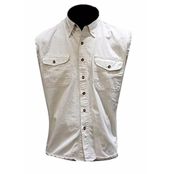 Sleeveless Cotton Denim Shirt by CD D C Dream Apparel in xXx: Return of Xander Cage