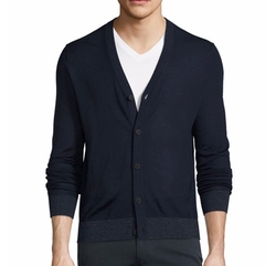 Rothley Merino Wool Cardigan by Theory in The Good Place