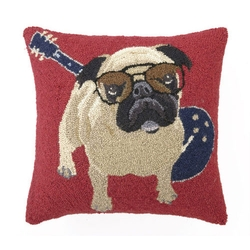 Pug Pillow by Posh Tots in Lady Dynamite
