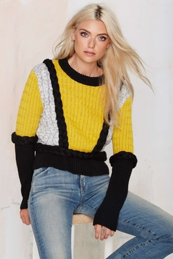 Knitz Billy Sweater by For Love & Lemons in Pretty Little Liars