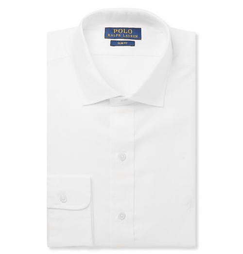 White Cotton Shirt by Polo Ralph Lauren in The Flash - Season 2 Episode 5