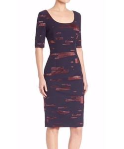 Printed Fil Copupe Sheath Dress by Escada in How To Get Away With Murder