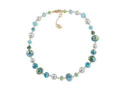 Beaded Collar Necklace by Carolee in Jem and the Holograms