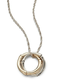 Interlinking Pendant Necklace by John Hardy in Easy A