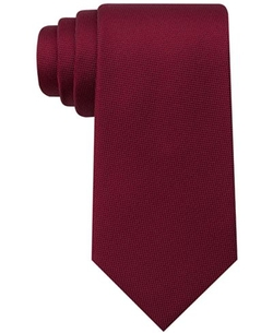 Core Oxford Solid Tie by Tommy Hilfiger in Power