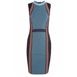 Wool-Blend Dress by Versace in Empire