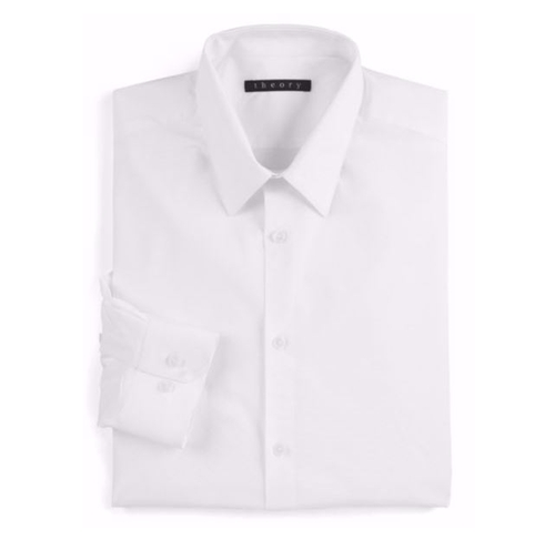 Slim-Fit Dover Sword Dress Shirt by Theory in Lethal Weapon - Season 1 Episode 5