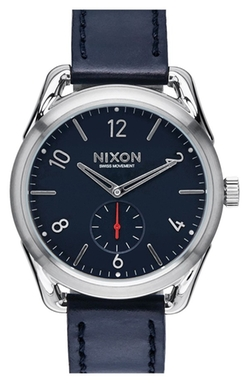 Leather Strap Watch by Nixon in Supergirl