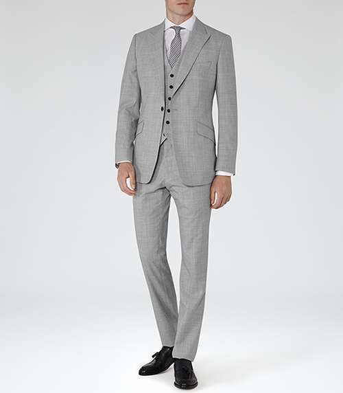 Peak Lapel Suit by Garda in Valentine's Day