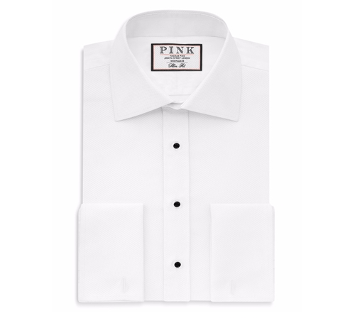 Marcella French Cuff Dress Shirt by Thomas Pink in The Good Place - Season 1 Preview