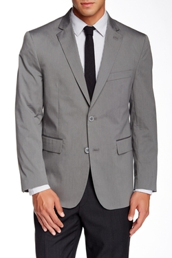 Two Button Notch Lapel Blazer by Louis Raphael in Elementary