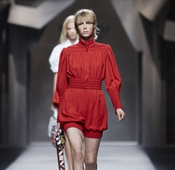 Spring 2016 Red Romper by Fendi in Keeping Up With The Kardashians