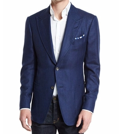 Peak-Lapel Half-Lined Sport Jacket by Tom Ford in Ballers