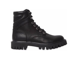 Charo Leather Combat Boots by Windsor Smith in Gypsy