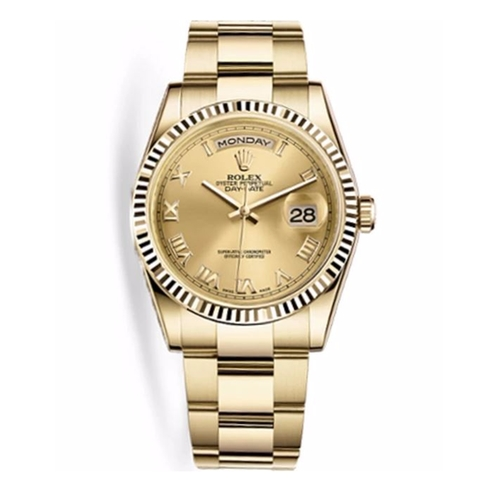 Day-Date Oyster Watch by Rolex in Justin Timberlake and the Tennessee Kids