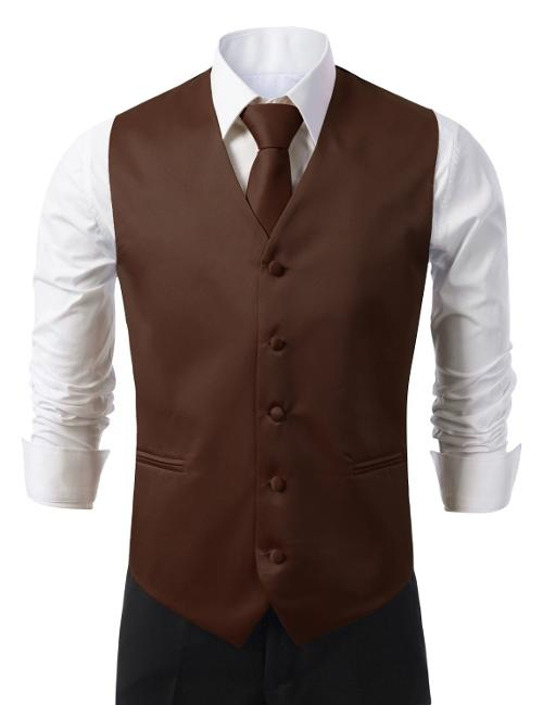 Men Solid Formal Tuxedo Vest by Idarbi in Anchorman 2: The Legend Continues