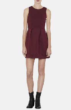 Bonded Jersey Skater Dress by Topshop in Vampire Academy