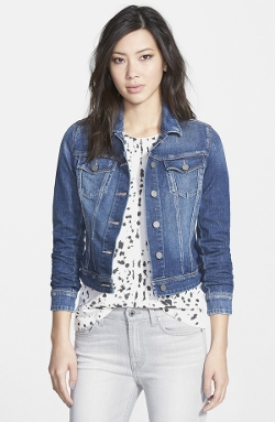 'Vermont' Denim Jacket by Paige Denim in Before I Wake