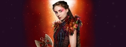 Custom Made Tiger Lily Collar (Rooney Mara) by Jacqueline Durran (Costume Designer) in Pan