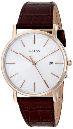 Leather Dress Watch by Bulova in The Big Bang Theory