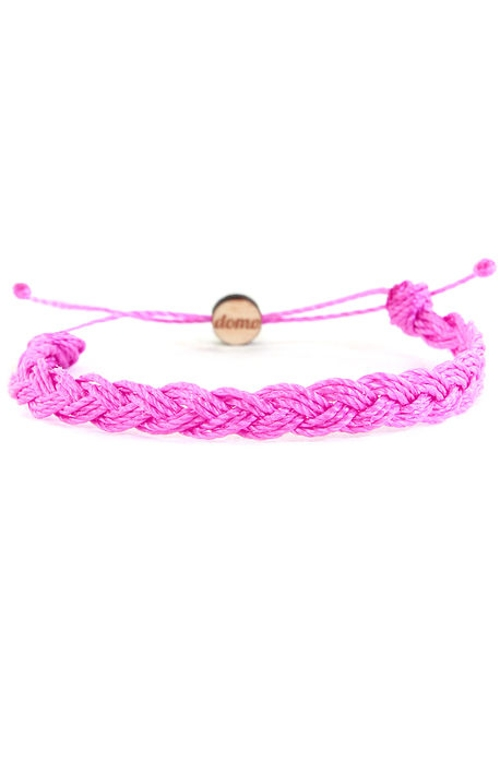 Mini Braided Retractable Bracelet by Domo Beads in Barely Lethal