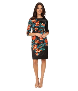 Printed Sheath Dress by Adrianna Papell in The Good Wife