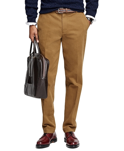 Milano Fit Brushed Twill Chinos by Brooks Brothers in A Very Murray Christmas