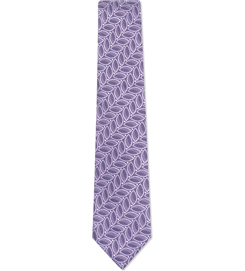Diagonal Leaf Dot Tie by Turnbull & Asser in The Good Wife