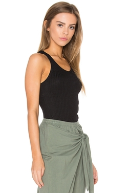 Scoop Neck Tank Top by Monrow in Quantico