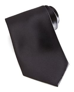 Solid Satin Tie by Brioni in Frank Miller's Sin City: A Dame To Kill For