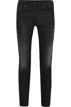 Relaxed Skinny High-Rise Slim Boyfriend Jeans by R13 in Man of Tai Chi