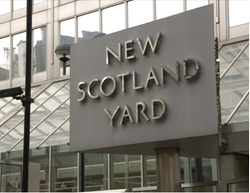 Broadway, United Kingdom by New Scotland Yard in Guilt
