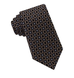 Silk Circle Neat Tie by Ike By Ike Behar in The Infiltrator
