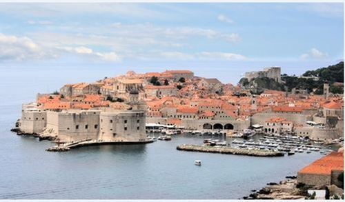 Dubrovnik (Depicted as King's Landing) Dubrovnik, Croatia in Game of Thrones - Season 6 Episode 10 - The Winds of Winter