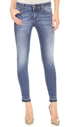 The Skinny Ankle Grazer Jeans by Stella McCartney in The Gambler