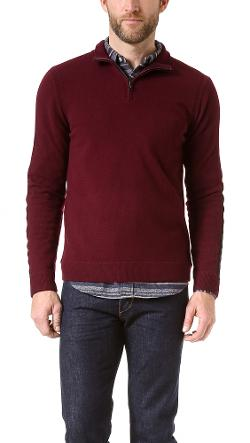 Zeeland Half Zip Pullover by Rag & Bone in The Giver