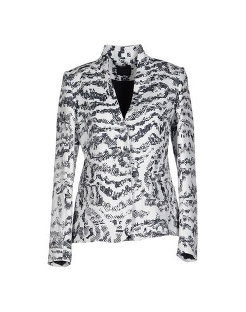 Pattern Blazer by Pinko Black in The Good Wife