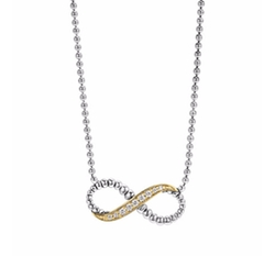 Beloved Diamond Infinity Link Necklace by Lagos in The Fate of the Furious