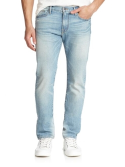 L'Homme Slim Fit Jeans by Frame in Animal Kingdom