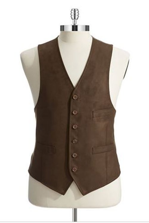 Button-Down Vest by Black Brown 1826 in The Best of Me