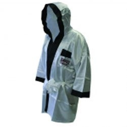 Satin Full Length Boxing Robe by Amber Fight Gear in Creed